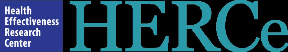 Health Effectiveness Research Center (HERCe) logo.