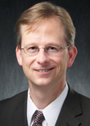 Portrait of Mark Vander Weg, professor and head of the Department of Community and Behavioral Health at the University of Iowa College of Public Health.