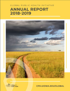 Cover of Global Public Health Annual Report, 2018-2019