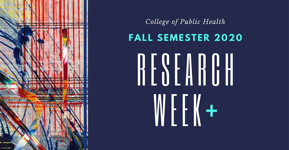 Research Week 2020 runs through the fall semester