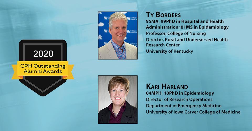 2020 Outstanding Alumni recipients slider
