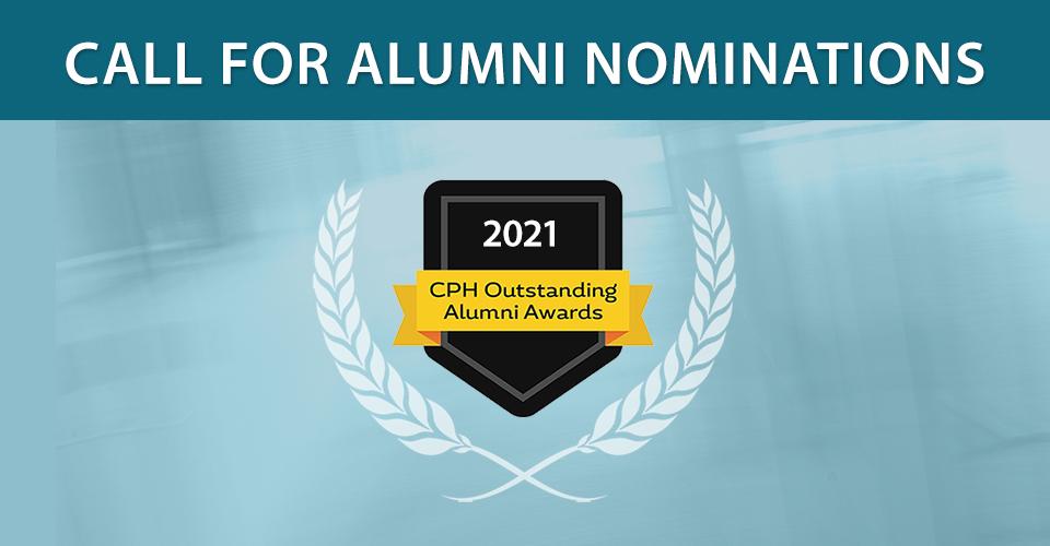 2021 Outstanding Alumni Nominations slider