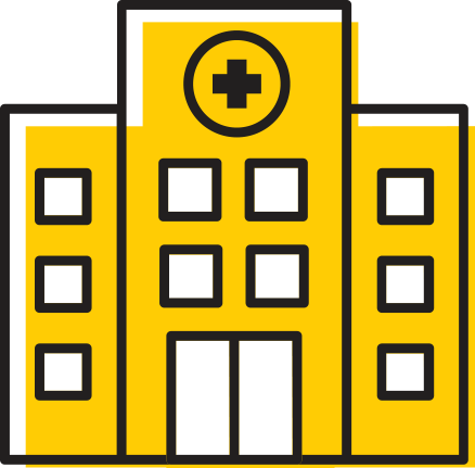 Icon representing Health Management and Policy