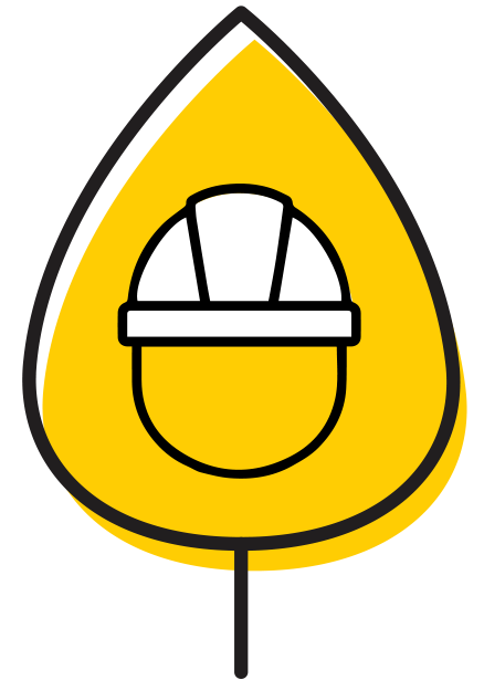 Icon representing Occupational and Environmental Health