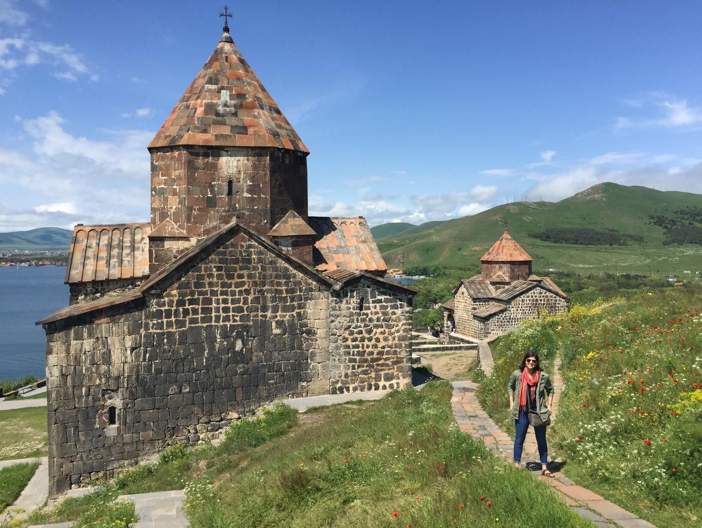 CPH student Anne Abbott in Armenia