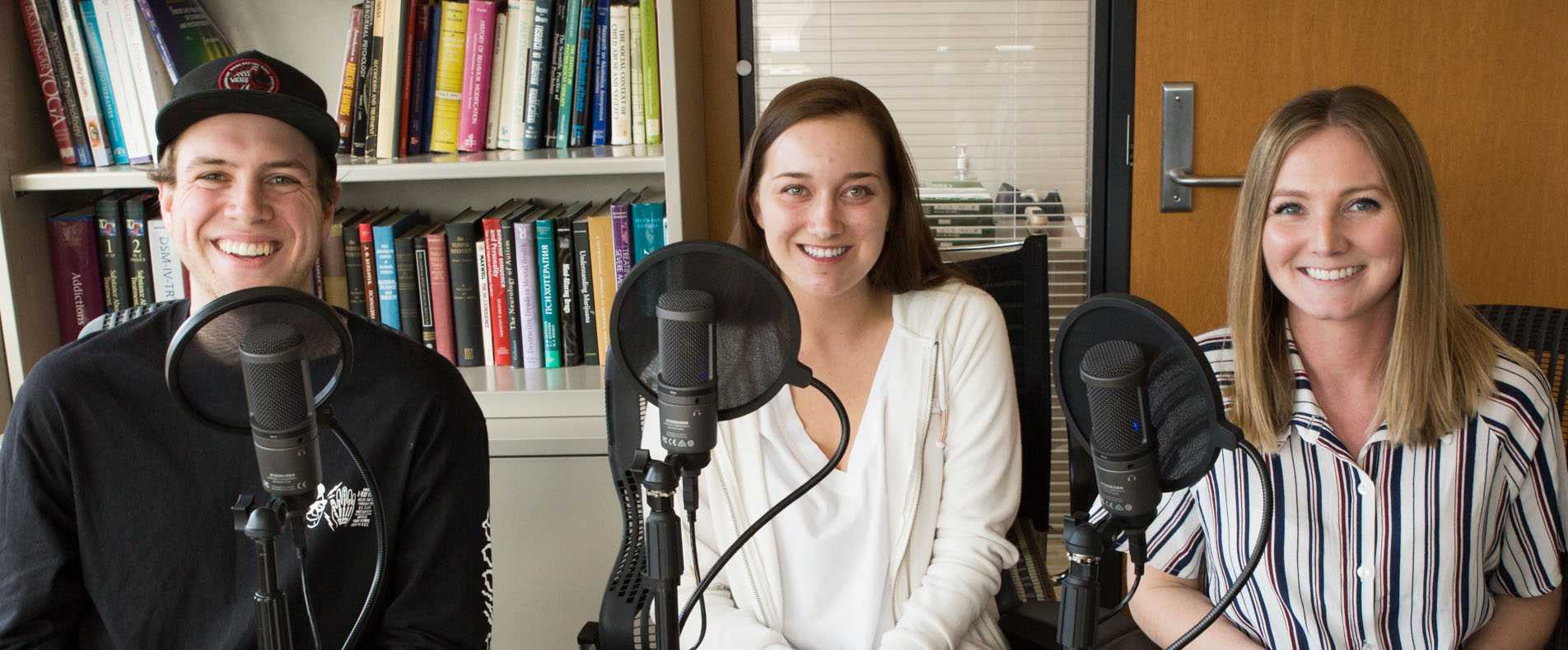 Student hosts of From the Front Row: Student Voices in Public Health
