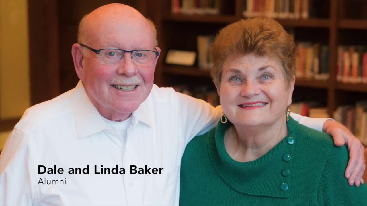 Portrait of Dale and Linda Baker