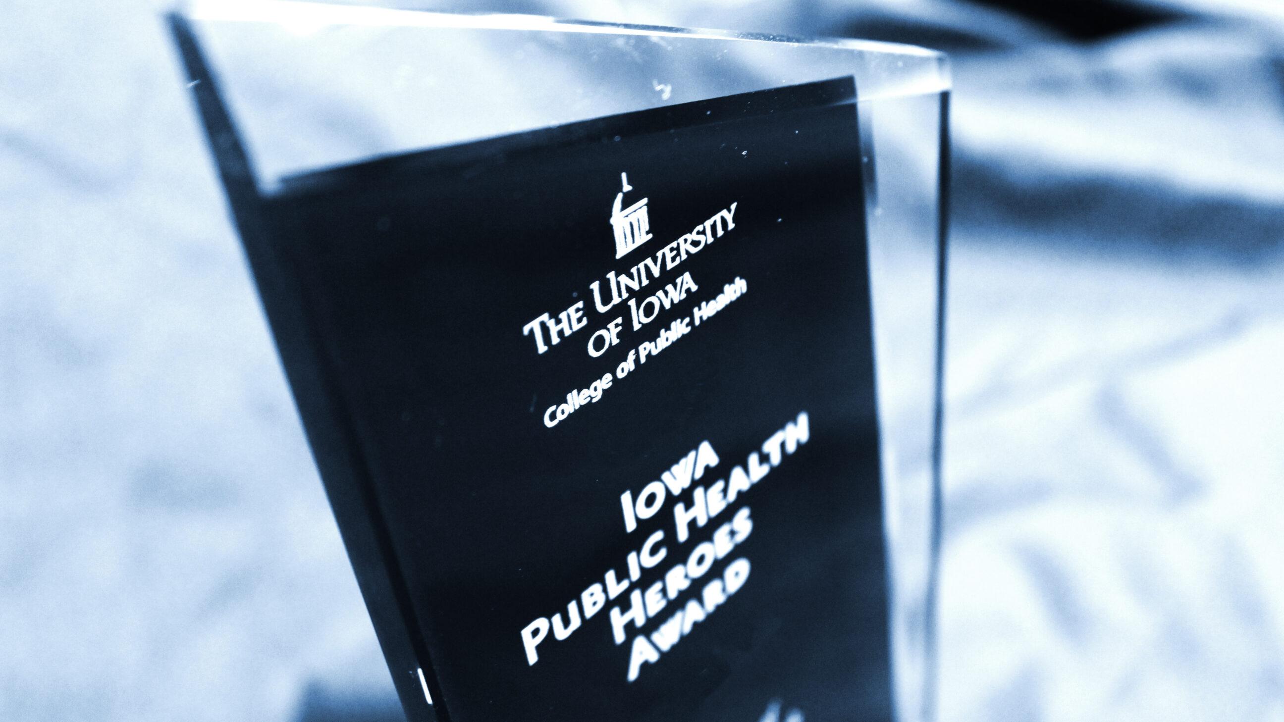 Public Health Heroes Trophy