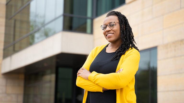 master of public health graduate student Bikere Ikoba
