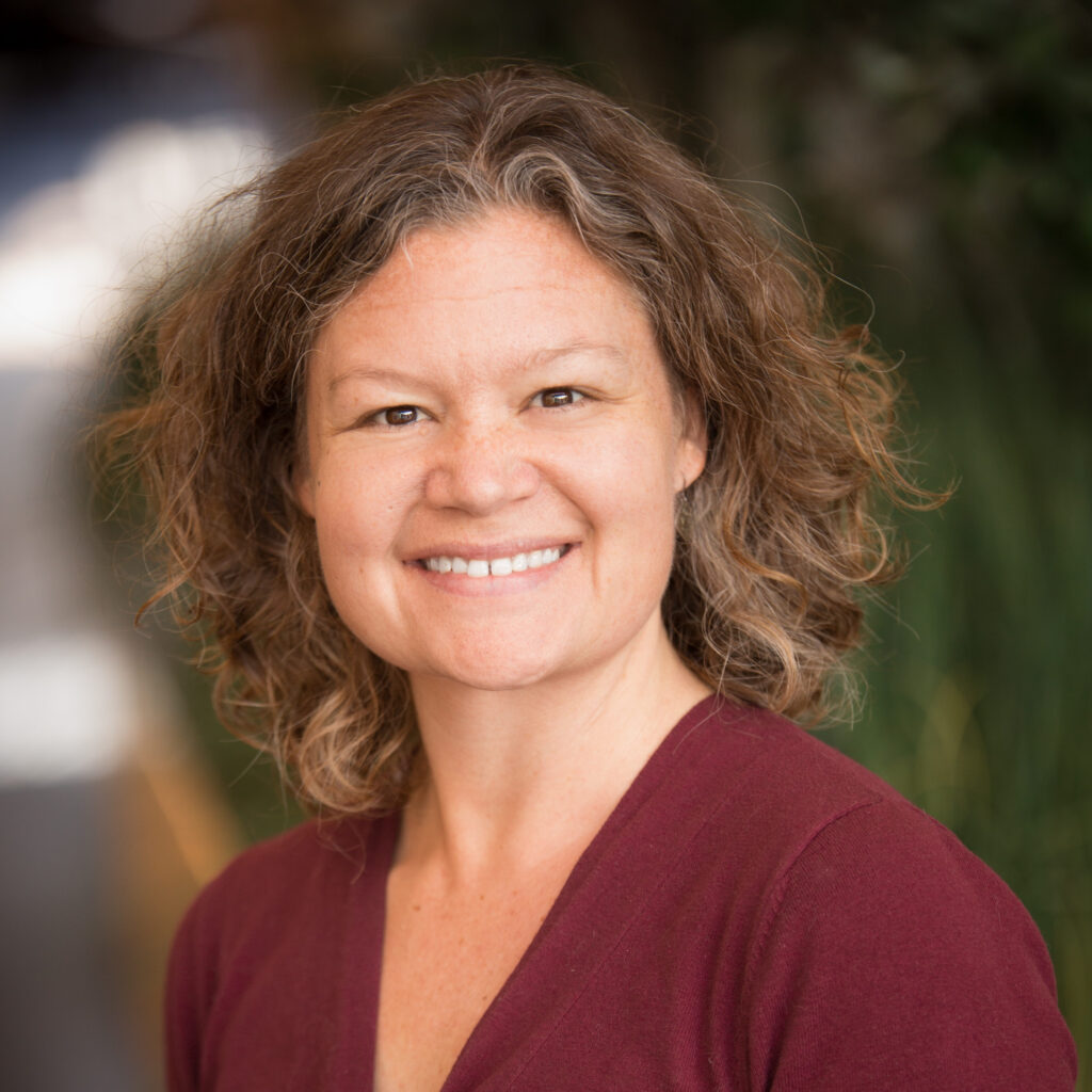 Portrait of Brandi Janssen, clinical associate professor in the Department of Occupational and Environmental Health at the University of Iowa College of Public Health.