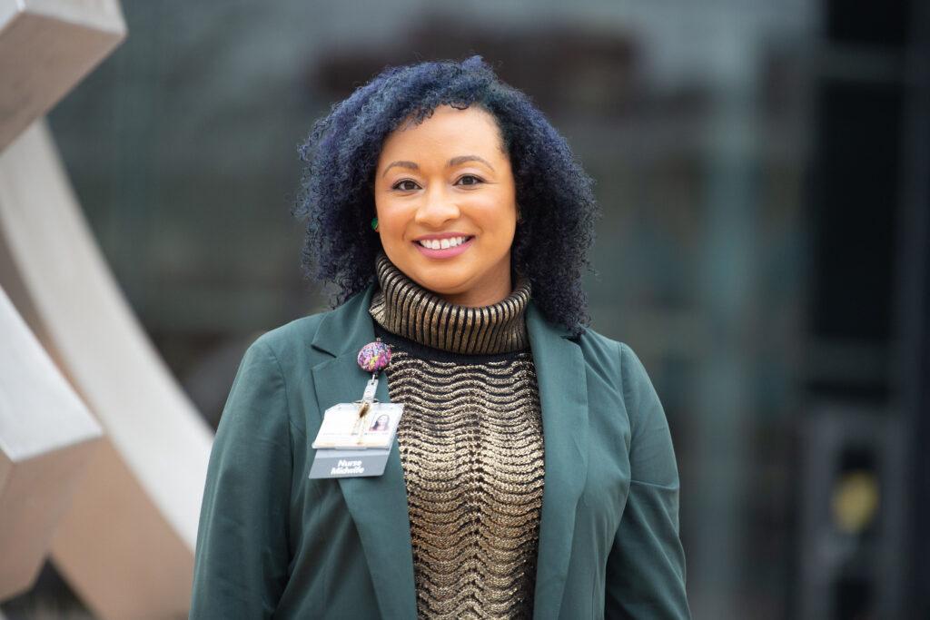 portrait of PhD in HMP student Lastascia Coleman