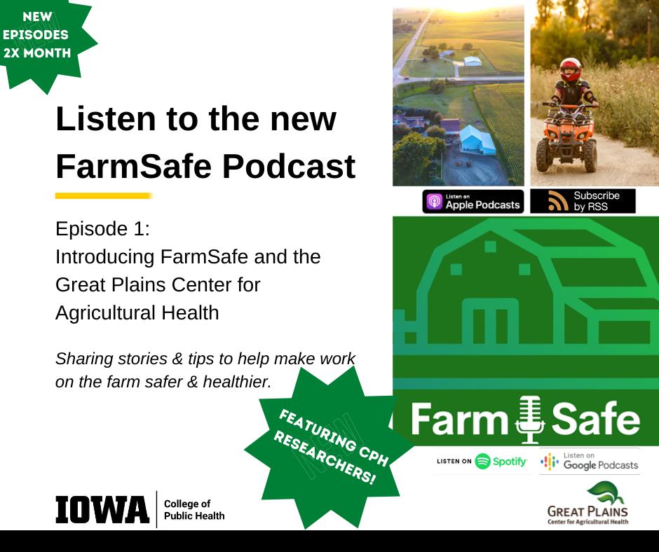 FarmSafe podcast episode 1 promotional image