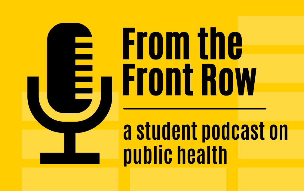 From the Front Row podcast logo